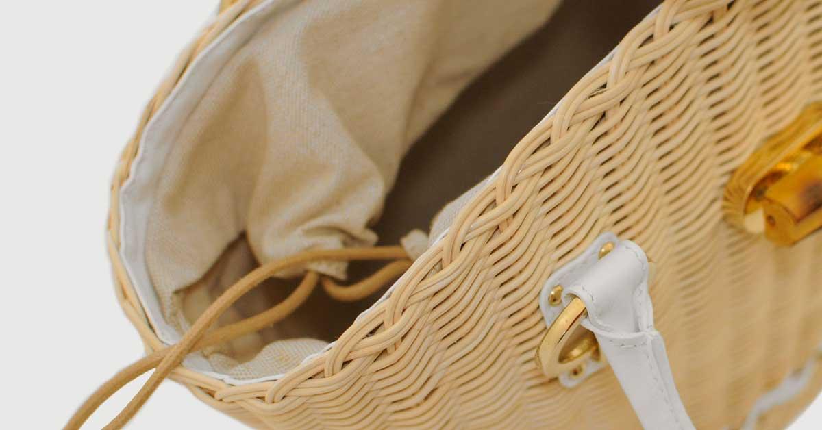 Cos'è Il midollino:  un materiale antico e pregiato. Ecco perché sceglierlo per le vostre borse.